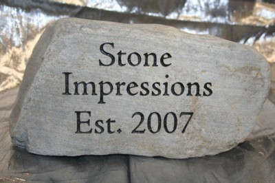 Rock and stone engravingportland oregon stone work with stone stone impressions 007g workwithnaturefo